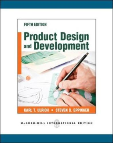 Product Design and Development 5 ED by Karl Ulrich 0071086951 EM