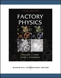 Factory Physics 3 ED Hopp