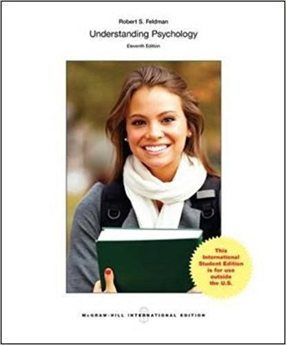 Understanding Psychology 11 ED by Robert S Feldman 0071314822