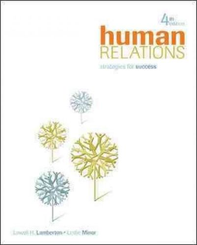 Human Relations Strategies for Success 4 ED Lamberton