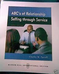 ABCs Relationship Selling Through Service 10 ED Charles M Futrell EM 0073380997