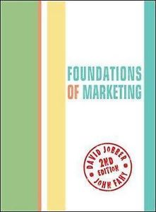 Foundations of Marketing 2 ED
