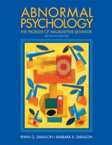 Abnormal Psychology (11 Edition)
