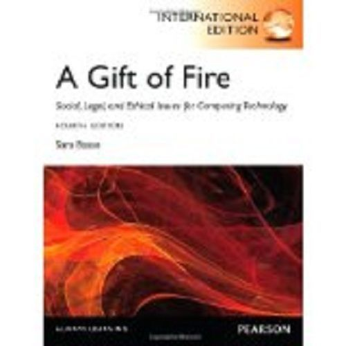 A Gift of Fire 4 ED by Sara Baase EM 0132492679