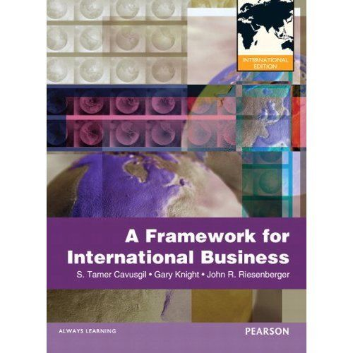 A Framework of International Business Riesenberger 0132598949