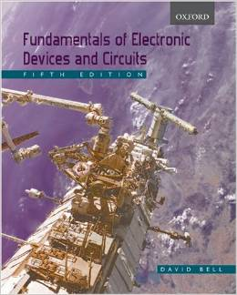 Fundamentals of Electronic Devices and Circuits (5 ED) Bell 0195425235
