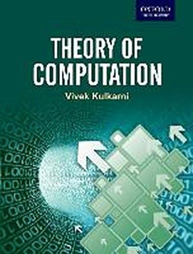 Theory of Computation 1 ED by Vivek Kulkarni 0198084587