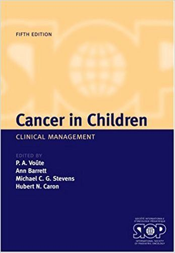 Cancer in Children Clinical Management 5 ED by P A Voute 0198529325