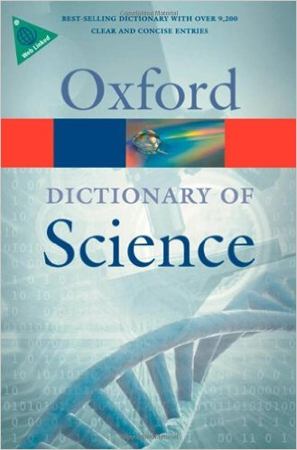 A Dictionary of Science 6 ED by Elizabeth A Martin 019956146X
