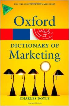 A Dictionary of Marketin 1 ED by Charles Doyle 0199590230