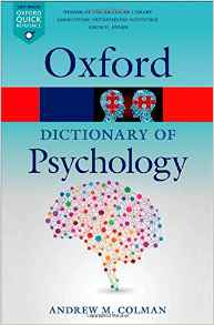 A Dictionary of Psychology 4 ED by Andrew M Colman 0199657688