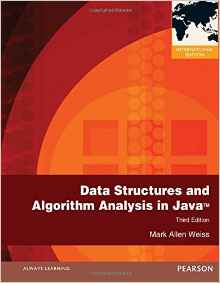 Data Structures and Algorithm Analysis in Java 3 ED by Mark Allen Weiss 0273752111 EM