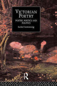 Victorian Poetry 1 ED by Isobel Armstrong 0415144256 US ED