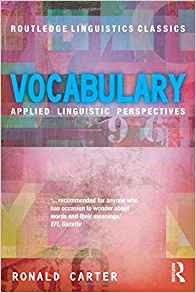 Vocabulary 1 ED by Ronald Carter 0415699339