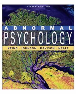 Abnormal Psychology (11 E)
