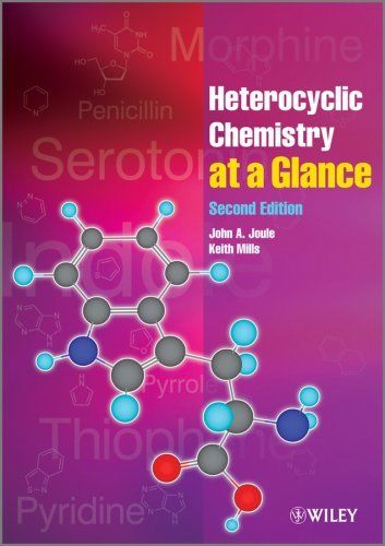 Heterocyclic Chemistry at a Glance 2 ED by John A Joule 0470971215 US ED