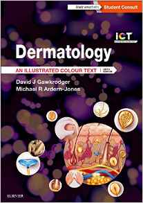 Dermatology 6 ED by David Gawkrodger 0702068497 US ED