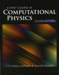 A First Course in Computational Physics (2 ED)