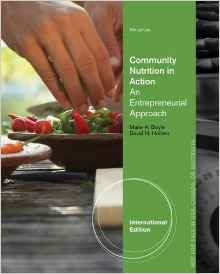 Community Nutrition in Action 6 ED by Marie Boyle 1111989877 EM