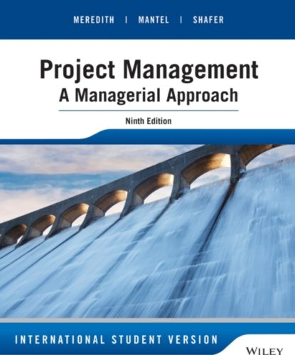 Project Management 9 ED by Jack R Meredith 1118945832 EM