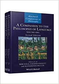 A Companion to the Philosophy of Language 2 ED 2 Vols by Bob Hale 1118974719 US ED