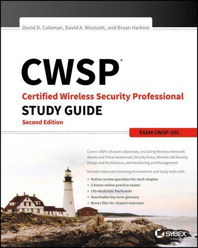 CWSP Certified Wireless Security Professional Study Guide 2 ED 1119211085