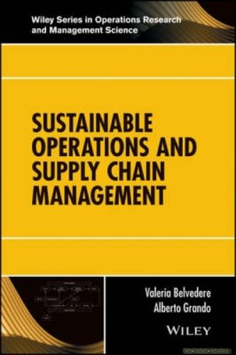 Sustainable Operations and Supply Chain Management 1 ED 1119284953 US ED