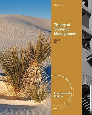 Theory of Strategic Management (10 ED) Hill 1133584705