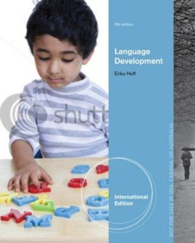 Language Development 5 ED by Erika Hoff 1133958354 EM