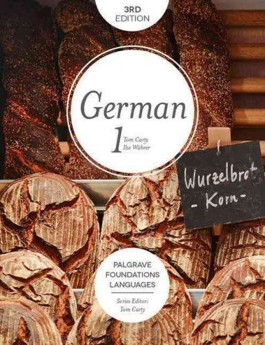 Foundations German 3 ED Part 1 by Tom Carty 1137579188 US ED