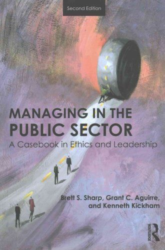 Managing in the Public Sector 2 ED by Brett Sharp 1138684791 US ED