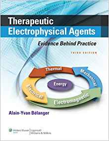 Therapeutic Electrophysical Agents 3 ED by Alain Yvan Belanger 1451182740 US ED