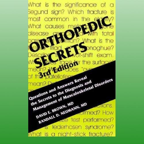 Orthopedic Secrets (3 ED) Brown 1560535415