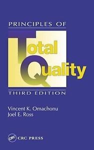 Principles of Total Quality (3 ED) Ross