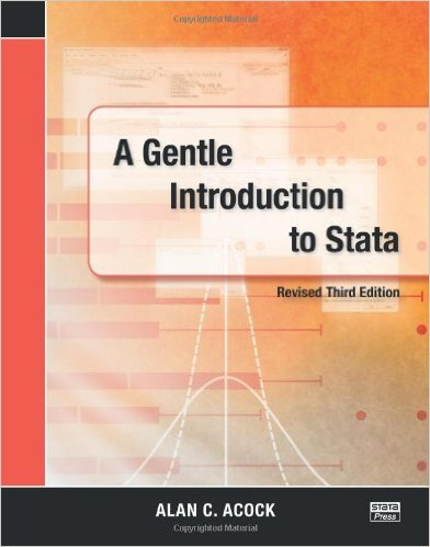 A Gentle Introduction to Stata 3 ED by Alan C Acock 1597181099 US ED