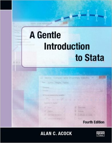 A Gentle Introduction to Stata 4 ED by Alan C Acock 1597181420 US ED