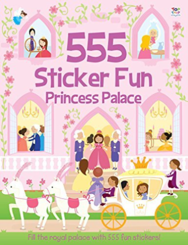 555 Sticker Fun Princess Palace by Susan Mayes 1782445145
