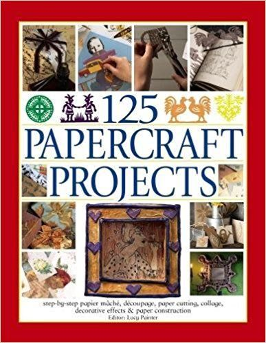 125 Papercraft Projects by Lucy Painter 1844779076