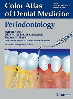 Color Atlas of Dental Medicine Periodontology 3 ED by Herbert F Wolf 3136750039 US ED