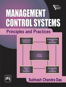 Management Control Systems: Principles and Practices (IE) 8120342208