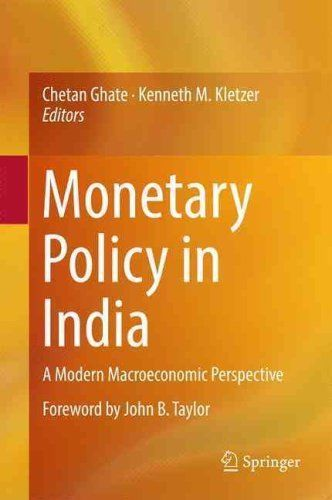Monetary Policy in India 1 ED by Chetan Ghate 8132228383 US ED