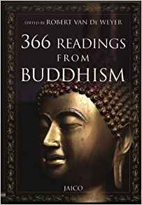 366 Readings from Buddhism by Robert Van De Weyer 8179920712