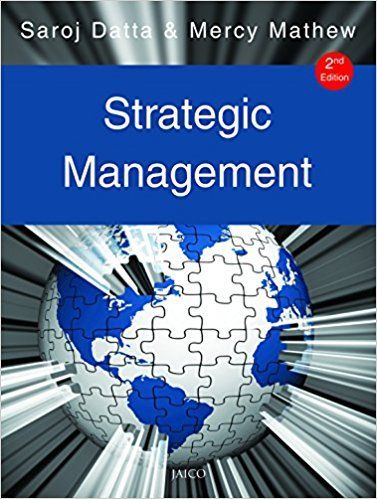 Strategic Management 2 ED by Saroj Datta 8184951159
