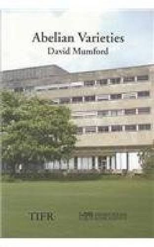 Abelian Varieties by David Mumford 8185931860 US ED