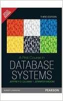 A First Course in Database Systems (3 ED) Ullman