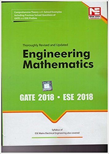 2018 GATE Engineering Mathematics 9351472736