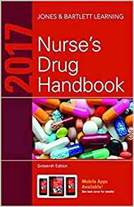 2017 Nurses Drug Handbook 6 ED by Jones and Bartlett Learning 9384323357
