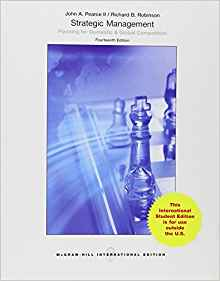 Strategic Management 14 ED by John Pearce 9814577375
