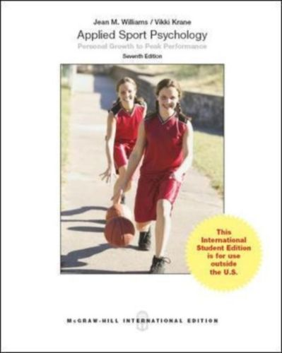 Applied Sport Psychology 7 ED by Vikki Krane 9814577499 EM