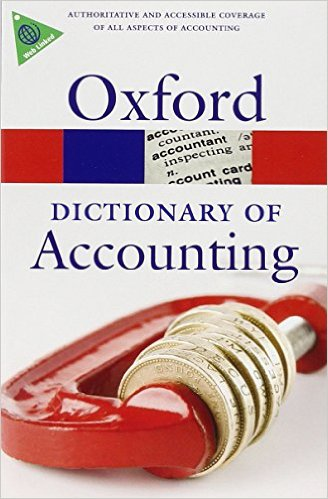 A Dictionary of Accounting 4 ED by Jonathan Law 0199563055